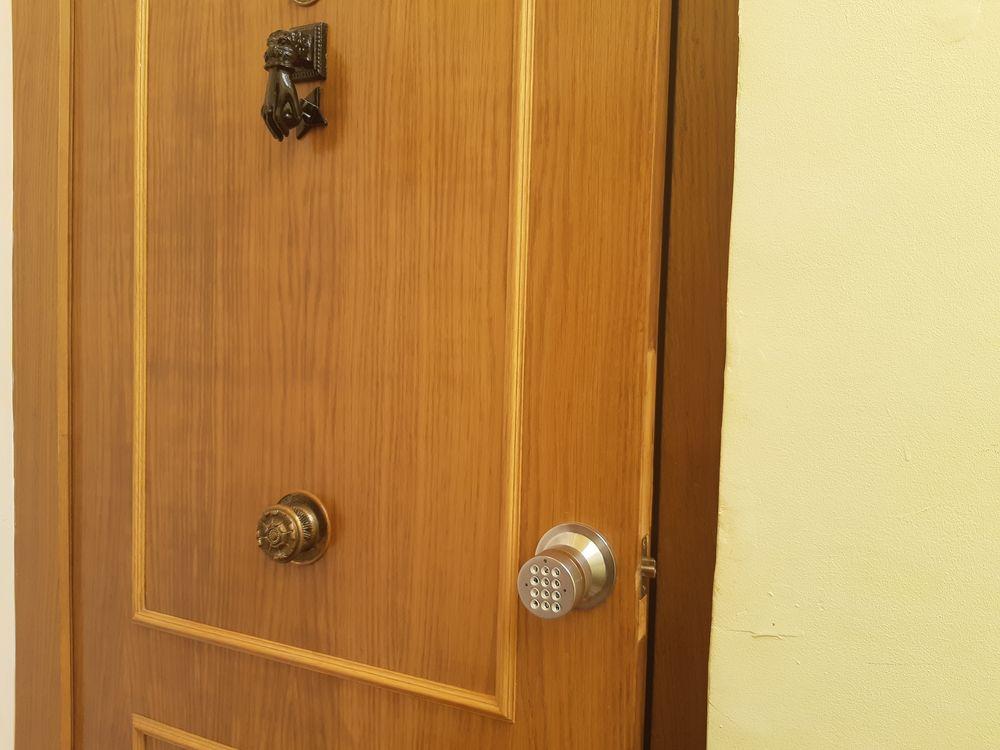 entrada apartamento laurel